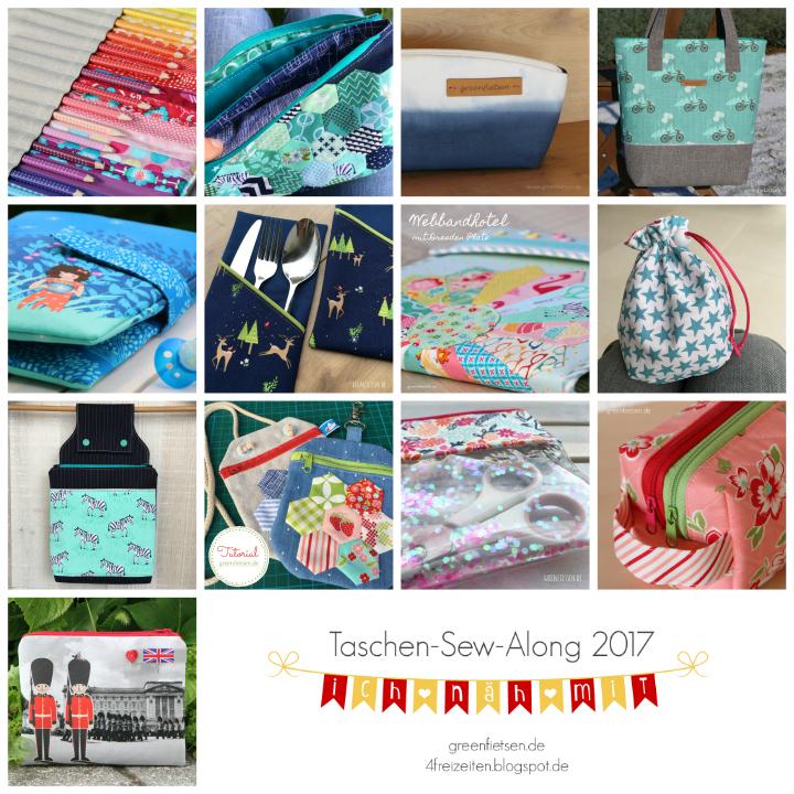 Taschen-Sew-Along 2017 - Meine Taschen im Überblick