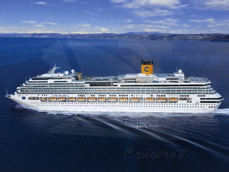 DÍA DE SAN VALENTÍN - Costa Cruceros brinda a sus pasajeros la oportunidad de celebrar el Día de los Enamorados de una  forma muy especial a bordo de su flota