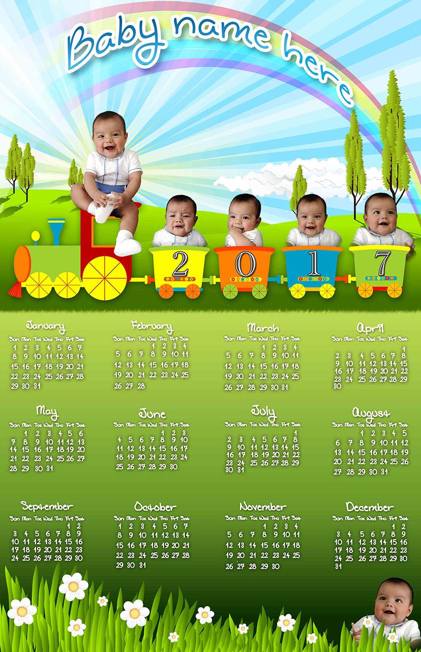 caritas de bebé con calendario 2017 calendarios 2019 gratis y