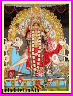Jagaddhatri Puja Date & Time