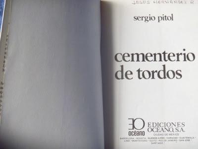 Cementerio Tordos, Sergio Pitol