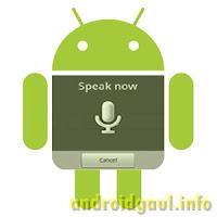 Aplikasi Pengontrol Android Dengan Suara