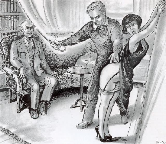 наказание жены карикатуры очередное