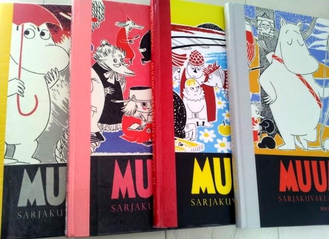 Nenä kirjassa: Muumit: sarjakuvaklassikot 4-7 / Tove Jansson, Lars Jansson