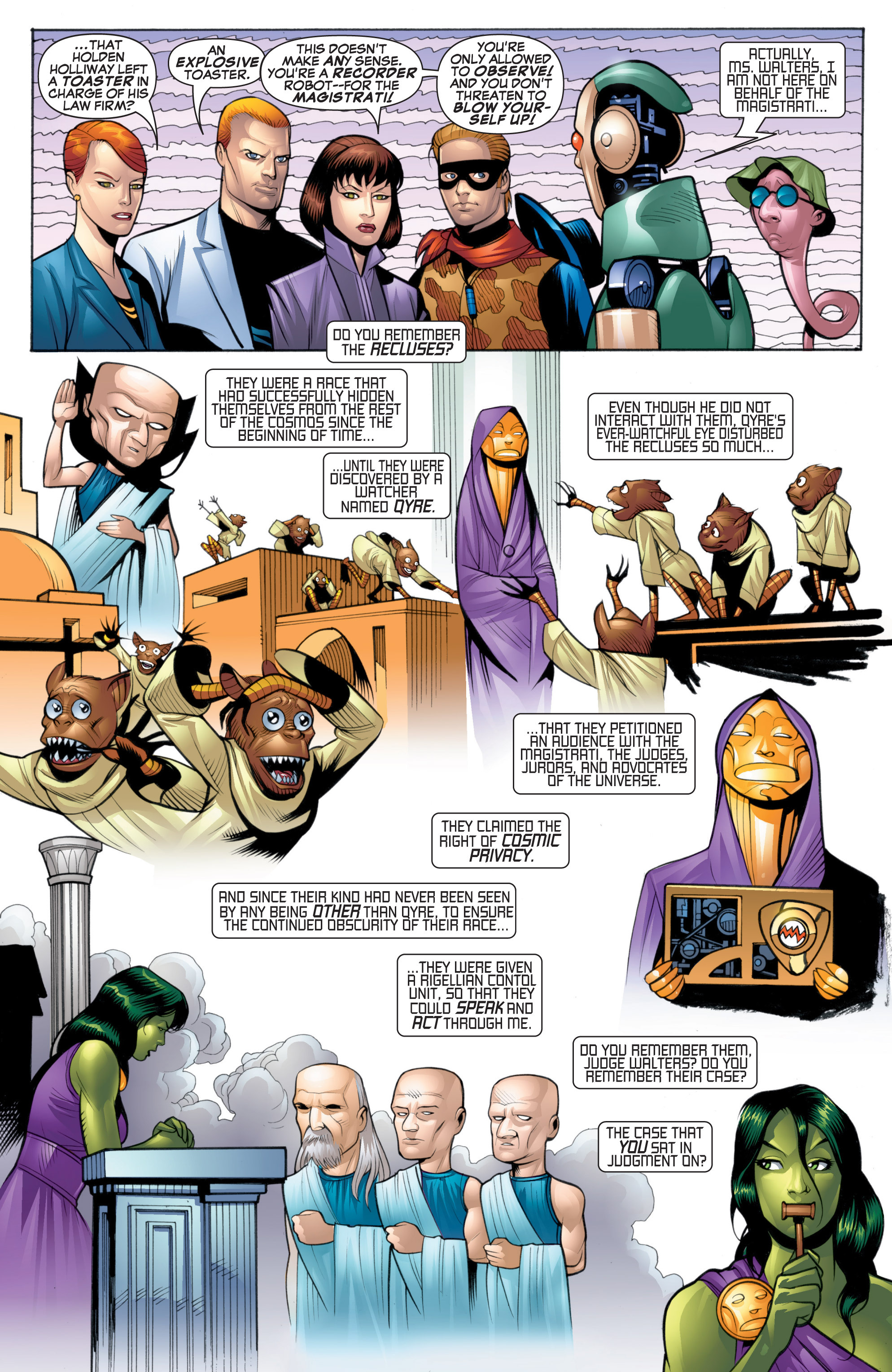 Read online She-Hulk (2005) comic -  Issue #20 - 10