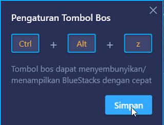 Cara Setting Tombol Bos Bluestacks 3