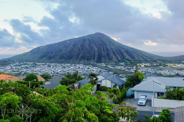Koko Head on Oahu, Hawaii