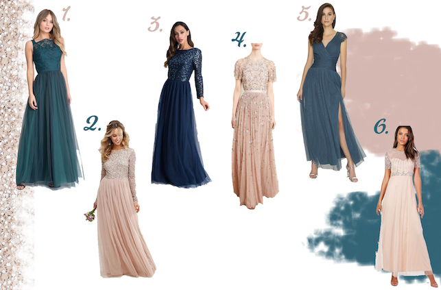 5f5563581cb8 Needle & Thread Comet Floral Embellished Gown | 5. Little Mistress Petrol  Maxi Dress | 6. Boohoo Tall Boutique Shira Embellished Maxi Dress