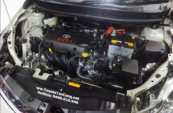 Toyota Vios tại Việt Nam chỉ sử dụng duy nhất 1 loại động cơ trong vòng 15 năm