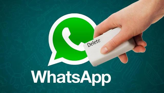 Ya puedes borrar los mensajes del receptor en WhatsApp