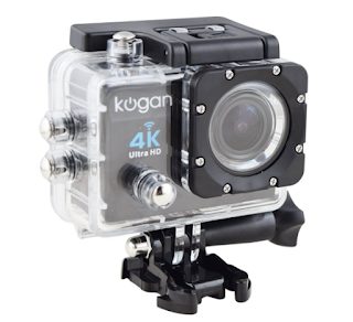 Description: Kogan 4K UltraHD Action Cam 500 ribuan
