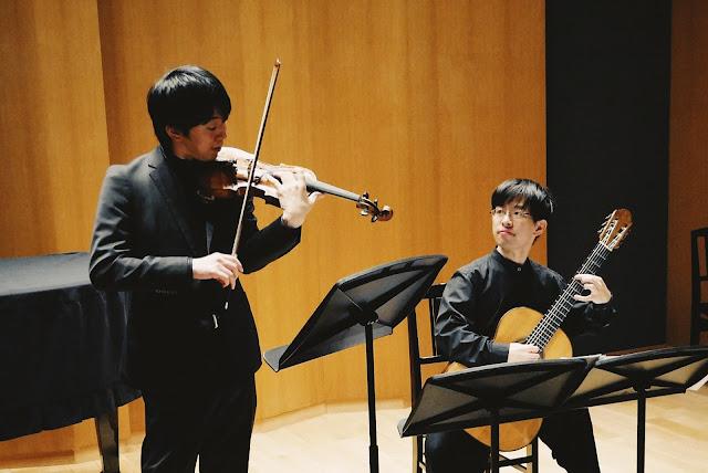 水曜日のクラシック、倉冨亮太、五十嵐紅、クラシックギター