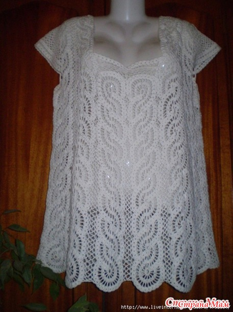 Crochet Free Patterns Blouse : How to crochet: Crochet Patterns for free crochet blouse ...