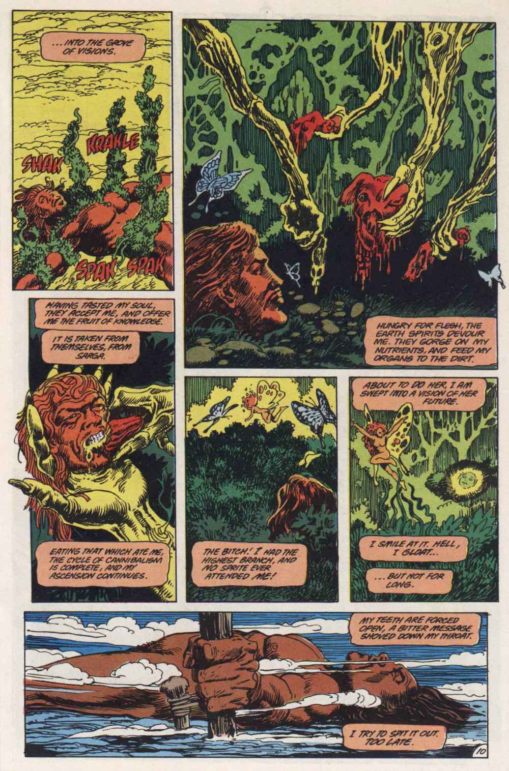 Swamp Thing (1982) Issue #91 #99 - English 10