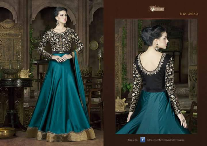Sawagat-4802 Colours – Latest New Long Designer Long And Heavy Anarkali Suit
