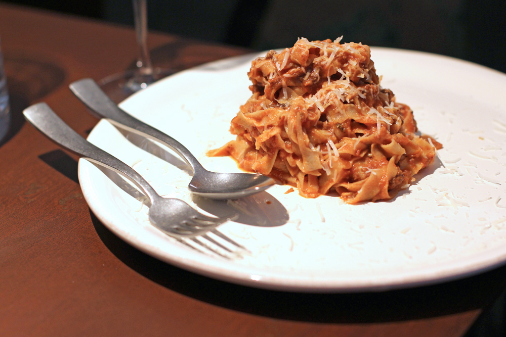 Pasta at Enoteca Pomaio, Brick Lane - London lifestyle blog