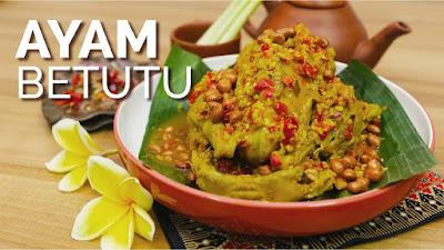 Ayam Betutu dari Bali