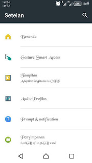 Custom Rom Xperia Mod for Evercoss A75A*