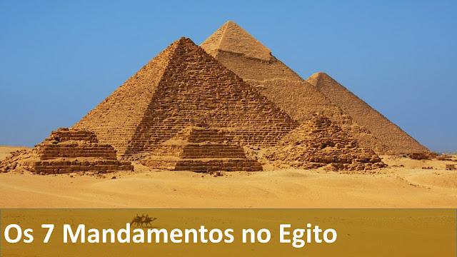Os 7 Mandamentos No Egito
