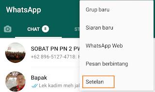 Cara Membuka Blokir Whatsapp orang Lain