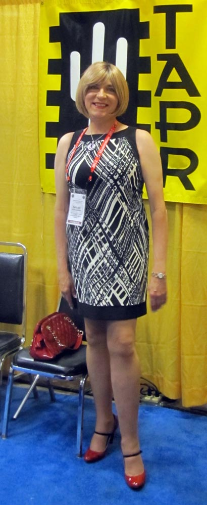 Staffing the TAPR booth at Hamvention, May 2012.
