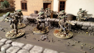 Painted Warlord Games Bolt Action British Commandos