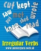 Daftar Irregular Verbs Lengkap