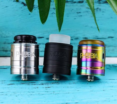 Vandy Vape Phobia V2 RDA BF Atomizer Launched