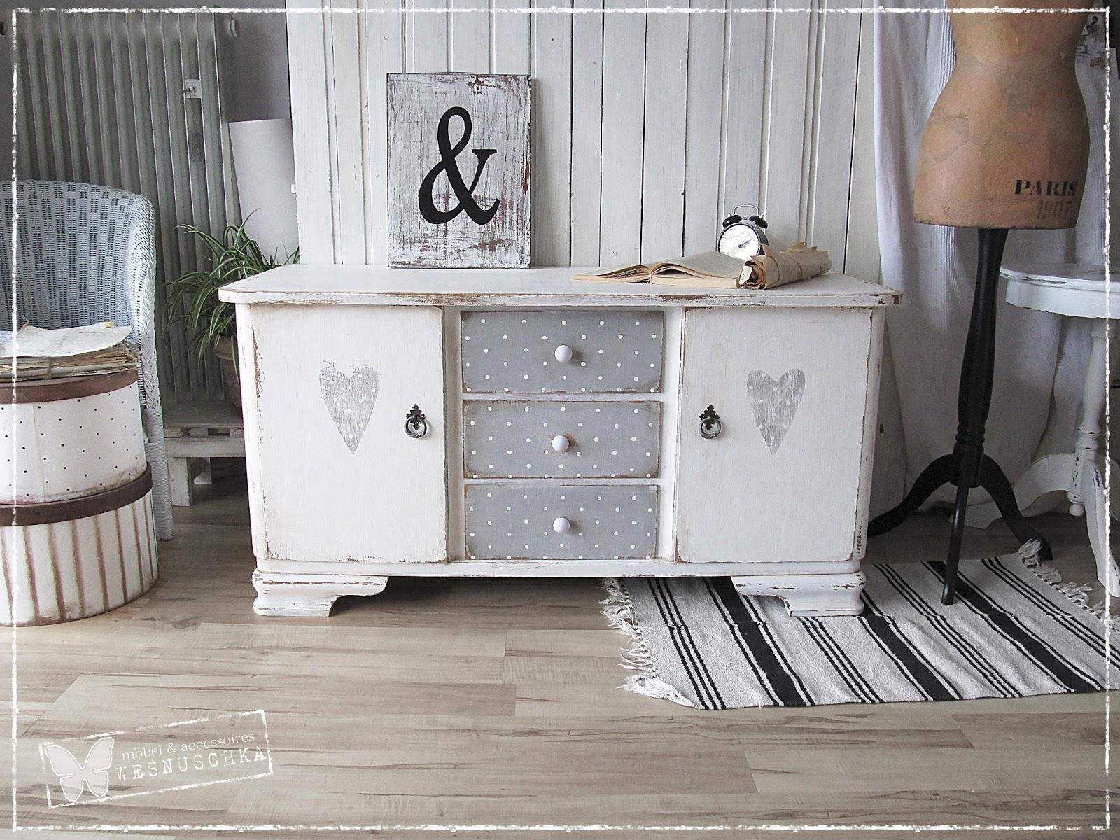 wesnyanka shabby kommoden. Black Bedroom Furniture Sets. Home Design Ideas