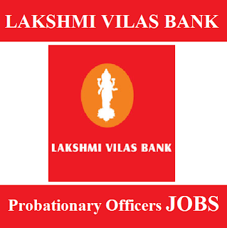Lakshmi Vilas Bank, Bank, Probationary Officers, Graduation, freejobalert, Sarkari Naukri, Latest Jobs, lakshmi vilas bank logo