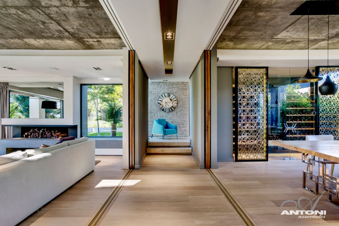 Modern Interiors of Pearl Valley 276 by Antoni Associates ...