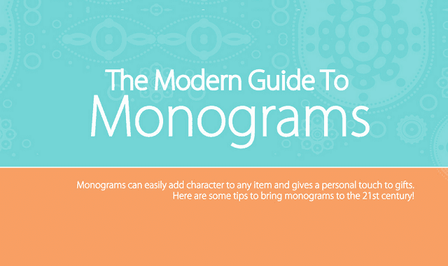 Image: The Modern Guide to Monograms