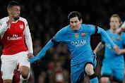 Berkat Messi, Barcelona Menang Di Kandang Arsenal