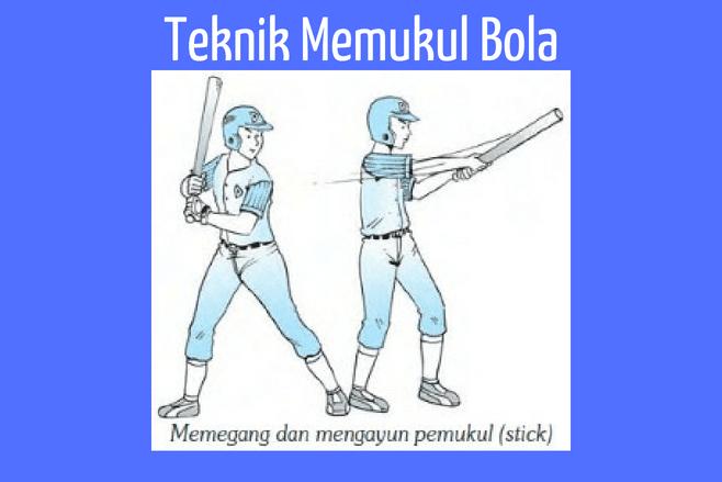 Teknik dasar Softball memukul bola