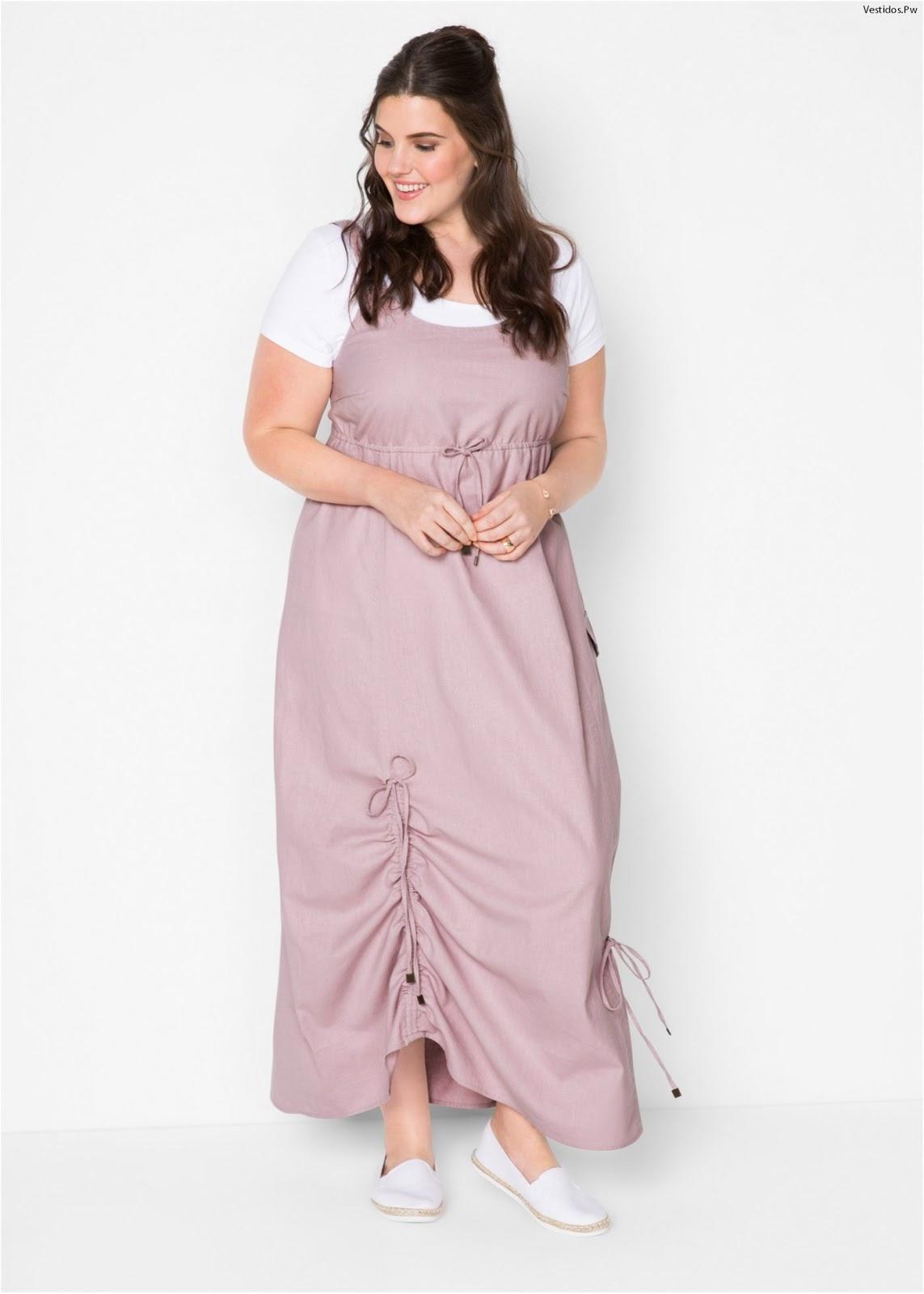 Modelos de vestidos informales para gorditas
