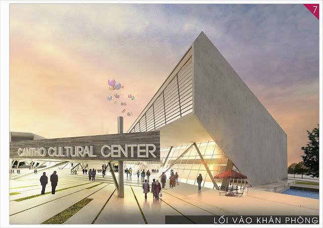 trung tâm sinh hoạt văn hóa nghệ thuật tiểu cảnh