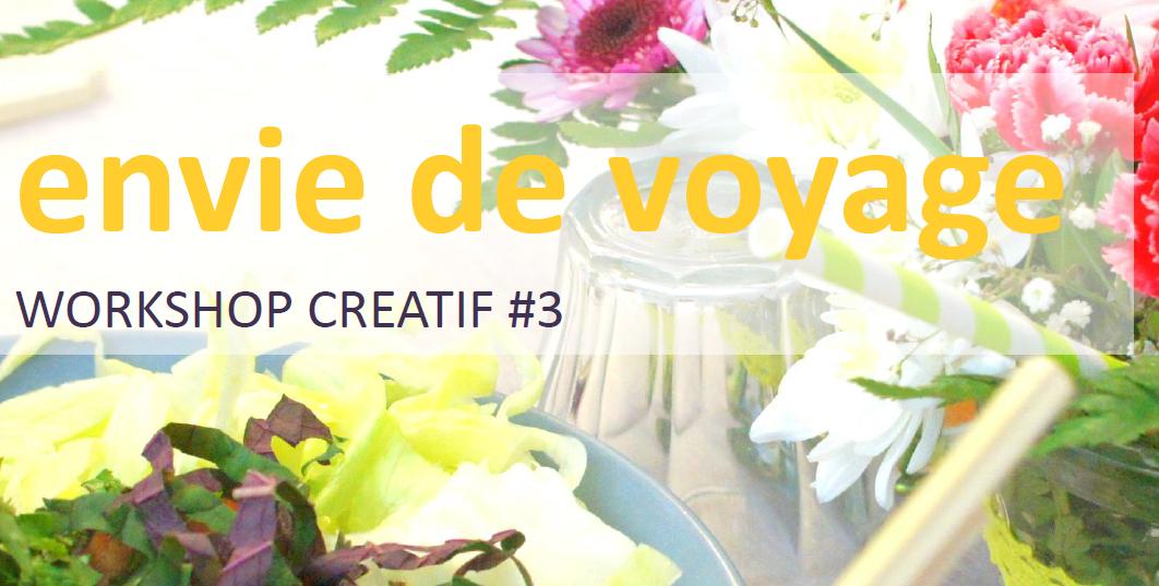 Workshop créatif 3  à l'Appartement Créatif