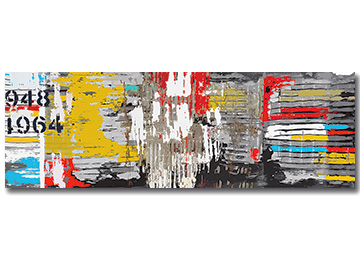 abstract, urban art, abstract art, multi coloured, industrial, contemporary, large wall art, modern abstract, Sam Freek,