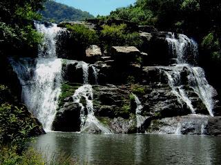 A Cachoeira dos Calza, em Cotiporã, RS