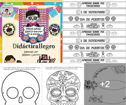 Dia de Muertos - Material Didáctico Digital