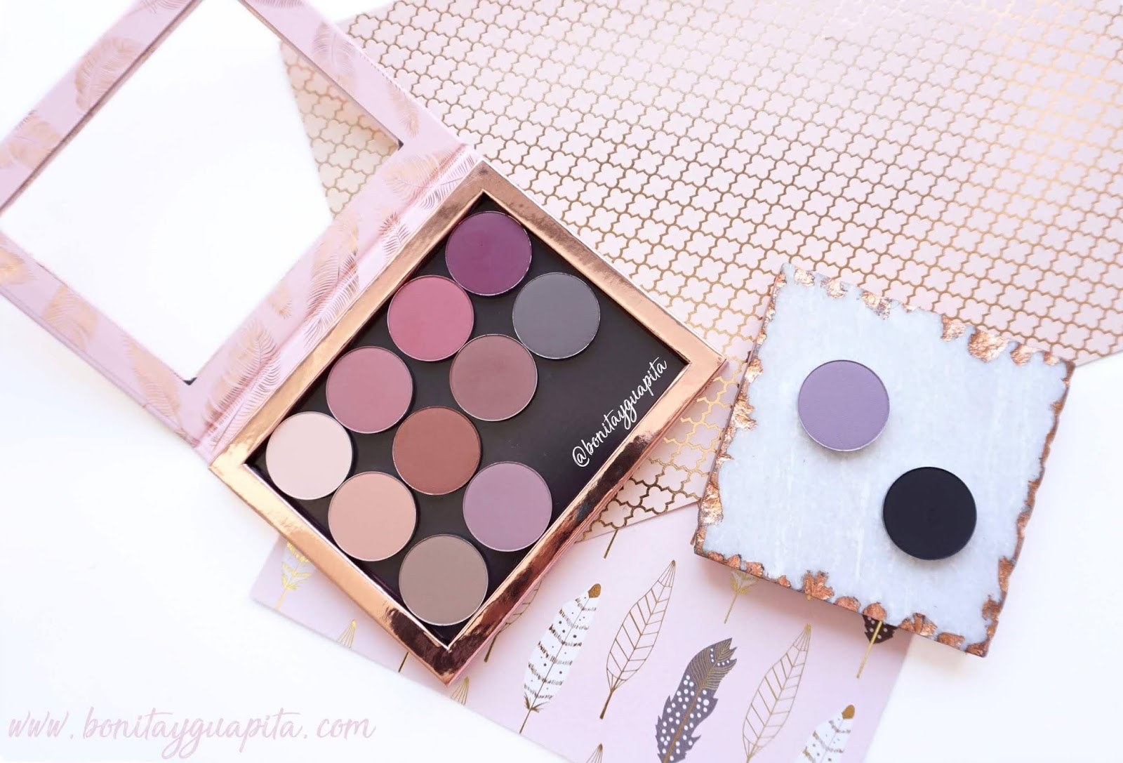 nabla pressed pigment sombras mate