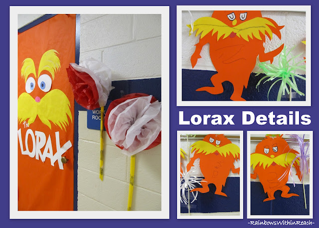 photo of: Dr. Seuss Bulletin Board details for The Lorax picture book