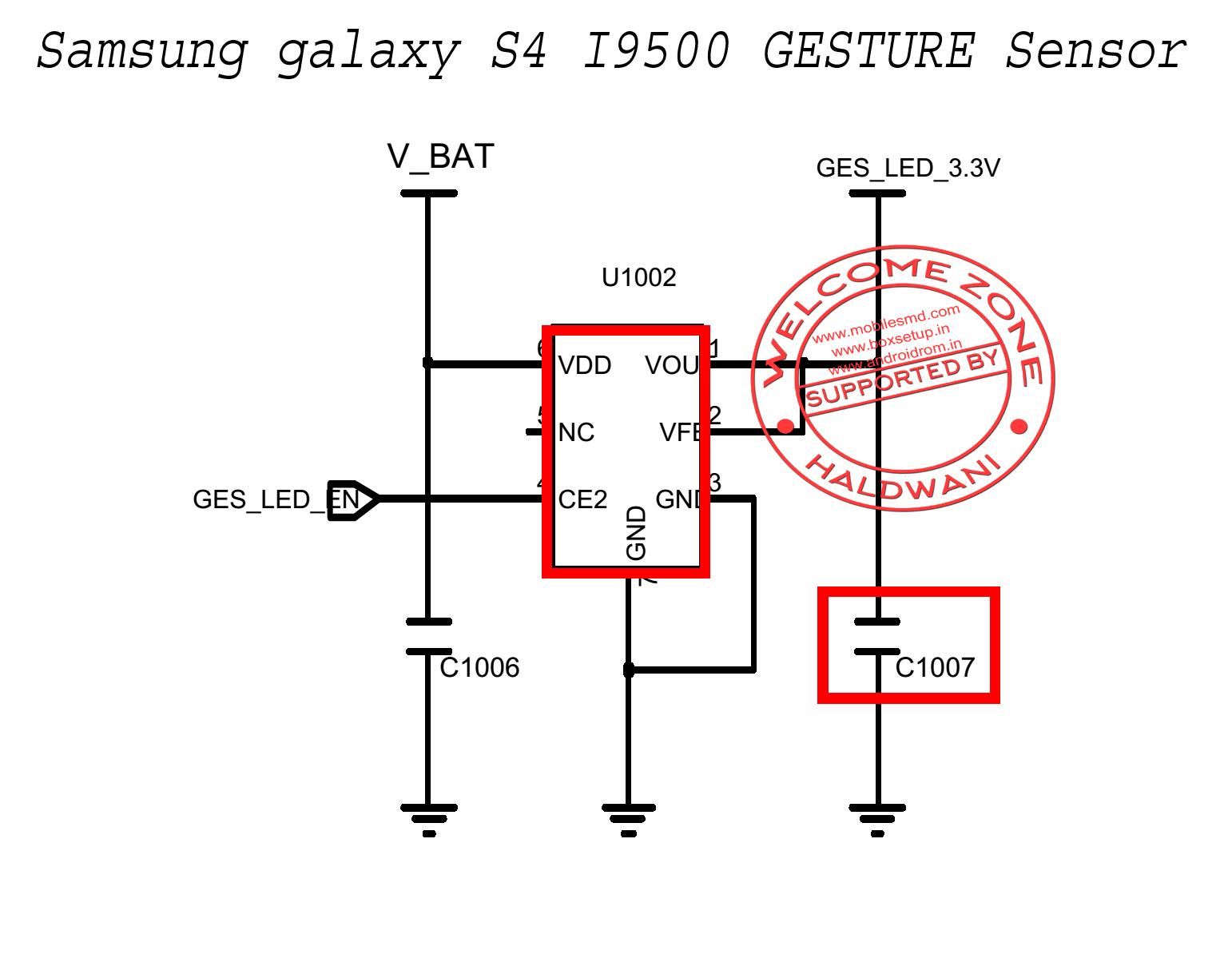 Samsung Galaxy S4 I9500 Gesture Sensor Not Working Solution