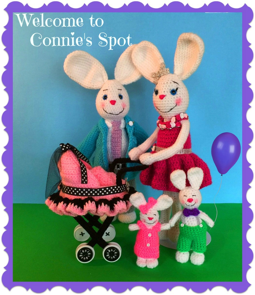 Hopper Family Crochet Bunny Pattern©