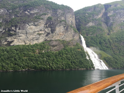 View of the fjords on a Disney Magic cruise