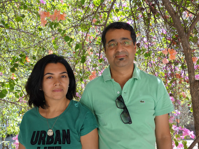 Anuj and Dr. Shruti Malhotra at Indiaart Gallery, Pune