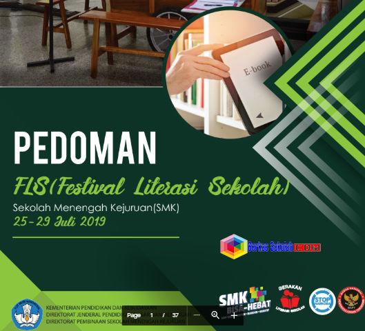 Pedoman FLS (Festival Literasi Sekolah) SMK 2019