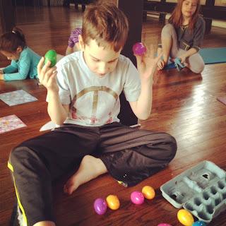 alluem kids easter yoga with the alluem kids