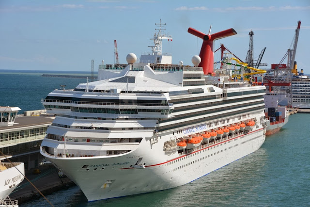 Carnival Sunshine in Barcelona