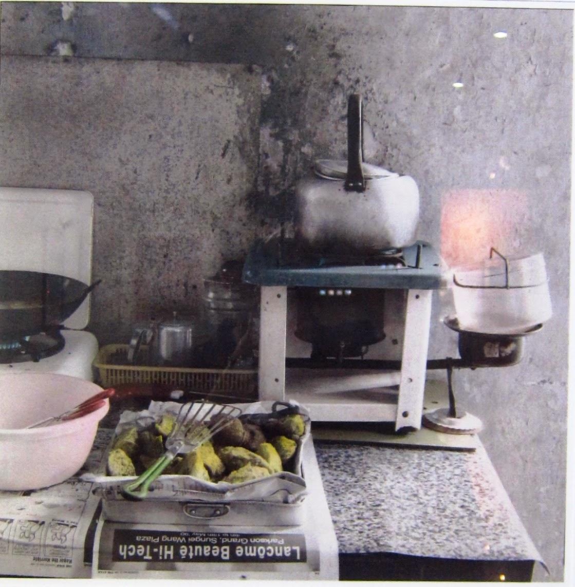 Dapur Minyak Gas Jerang Air Goring Cucur Kerosene Stove Cooker Water Boiling Fritters Frying 1990